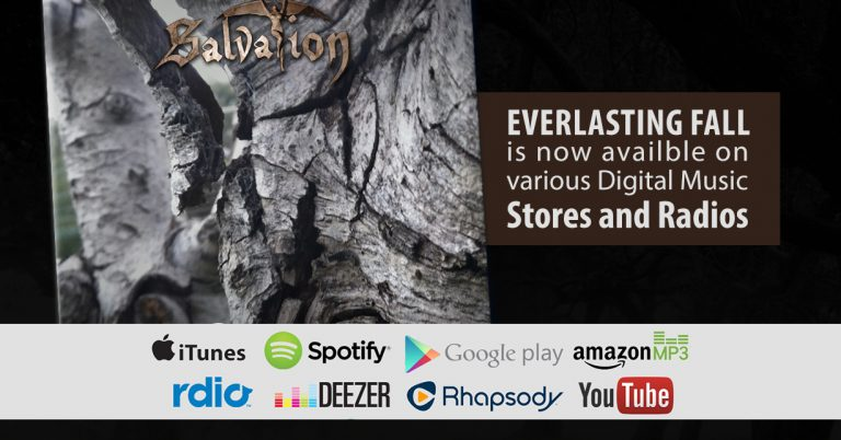 Our brand new album, Everlasting Fall can now be downloaded via a variety of music stores and played on online radio and streaming services.